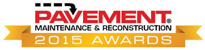 Pavement Maintenance & Reconstruction 2015 Awards